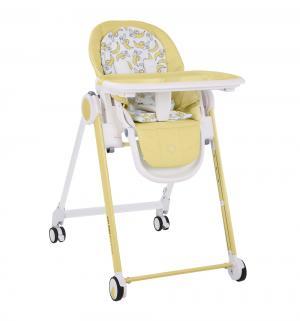 Стульчик для кормления  Berny, цвет: желтый Happy Baby