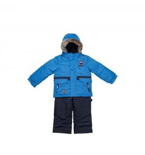 Комплект куртка/полукомбинезон , цвет: голубой Peluche&Tartine