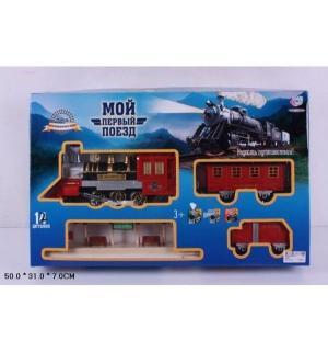 Игровой набор  Мой первый поезд Железная дорога 268 см JOY TOY