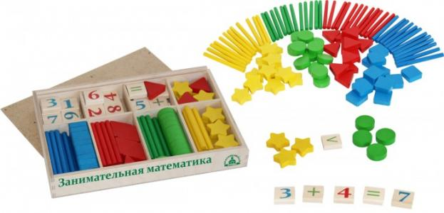 Обучающий набор Занимательная математика Краснокамская игрушка