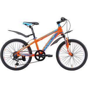 Велосипед  Peak 20, синий Welt. Цвет: оранжевый