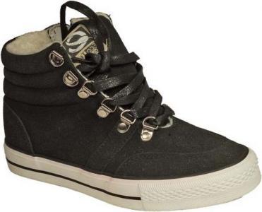 Ботинки , цвет: черный Зебра