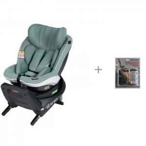 Автокресло  iZi Twist i-Size с защитой спинки сиденья от грязных ног ребенка АвтоБра BeSafe