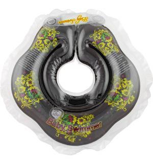 Круг на шею  Хохлома, цвет: черный Baby Swimmer
