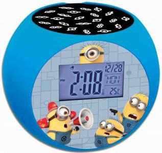 Часы  Проектор Миньоны Lexibook