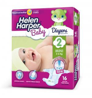 Подгузники  Baby Mini (3-6 кг) 16 шт. Helen Harper
