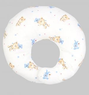 , Подушка для кормления Мишка с собачкой, (бел), (бязь) Leader Kids