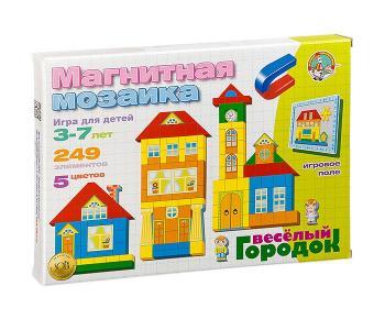 Магнитная мозаика Веселый городок Тридевятое царство