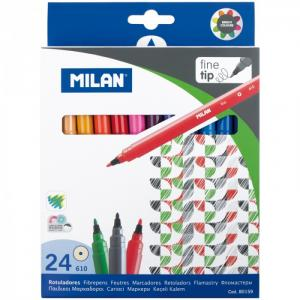 Фломастеры  610 24 цвета Milan