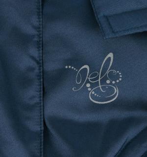 Пальто  Piia, цвет: синий Nels