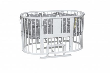 Кроватка-трансформер  Слоник 8 в 1 Гном