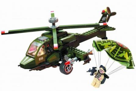 Конструктор  Вертолёт 818 (275 элементов) Enlighten Brick