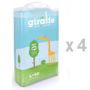Подгузники-трусики Giraffe L 50 шт. (9-14 кг) Lovular