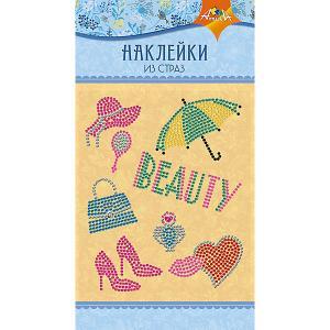 Набор для творчества Апплика Декоративные наклейки из страз Beauty