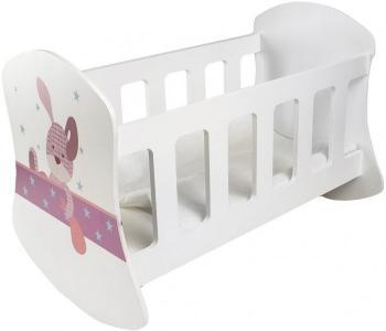 Кроватка для куклы  Люлька Крошка Зи Paremo