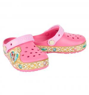 Сабо  CB Disney Princess Lts Clog K VPk, цвет: розовый Crocs