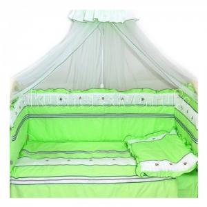 Комплект в кроватку  Любавушка (7 предметов) Bombus