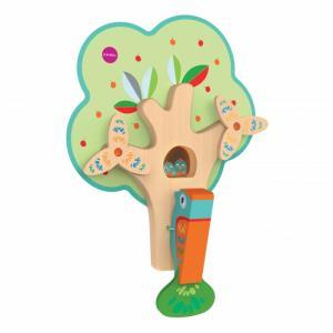 Деревянная игрушка  Vertiplay Занятой дятел Oribel