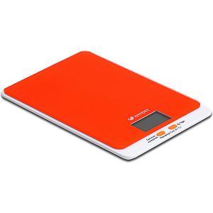 Кухонные весы Kitfort КТ-803 GEOX. Цвет: оранжевый