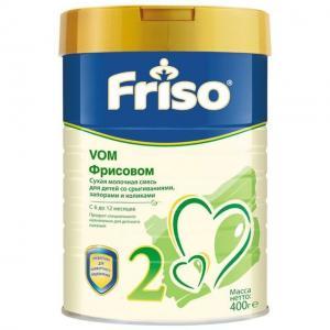 Молочная смесь  Фрисовом 2 с 6 месяцев, 400 г Friso