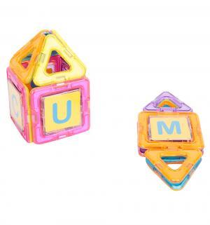 Магнитный конструктор  Магический магнит цвет: розовый/оранжевый (20 дет.) Tongde