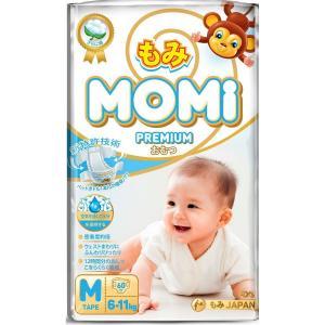 Подгузники  Premium (6-11 кг) 60 шт. Momi