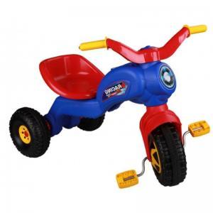 Трехколесный велосипед  Чемпион, цвет: синий Альтернатива