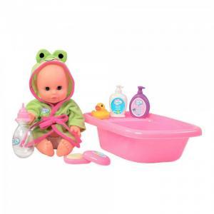 Набор для купания с пупсом Play Baby Toys Lab
