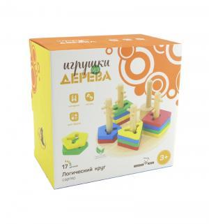 Развивающая игрушка  Логический круг Мир Деревянных Игрушек