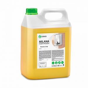 Жидкое крем-мыло Milana молоко и мед 5 кг Grass