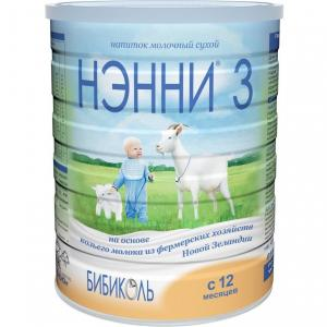 Молочная смесь  3 с 12 месяцев, 800 г Нэнни