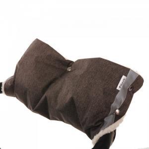 Муфта для рук на коляску (мех/плащевка классика) Pituso