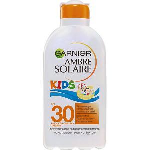 Солнцезащитное молочко  Ambre Solaire Kids для детей увлажняющее, SPF 30 Garnier