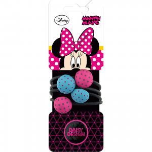 Набор резинок для волос, 4 шт. Минни Маус Daisy Design