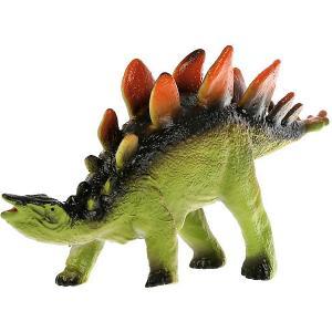 Игровая фигурка  Рассказы о животных Динозавр стегозавр, озвученная Играем вместе