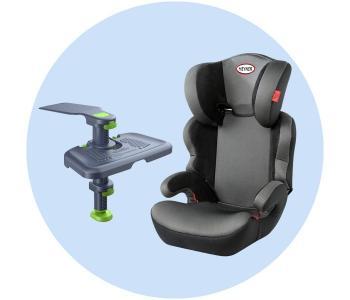 Автокресло  MaxiProtect Aero с подножкой для детских автокресел Ingarden Knee Guard Kids 3 Heyner