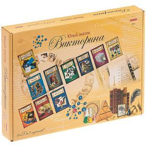 Настольнаня игра  Викторина. Юный знаток, 108 карточек Рыжий кот