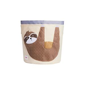 Корзина для хранения  Ленивец 3 Sprouts. Цвет: бежевый