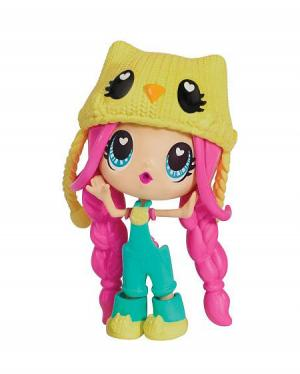 Кукла в блистере с розовыми волосами Kawaii