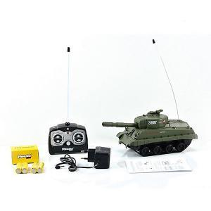 Радиоуправляемый танк  Army MM4 Шерман, звук Mioshi