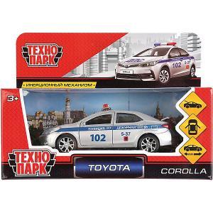 Инерционная машина Технопарк Toyota Corolla, Полиция. Цвет: разноцветный