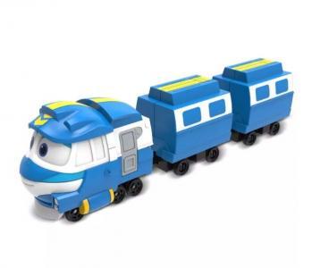 Паровозик с двумя вагонами Кей Robot Trains