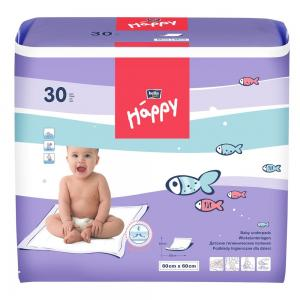 Пеленки  Baby Happy детские 60х60 см, 30 шт Bella