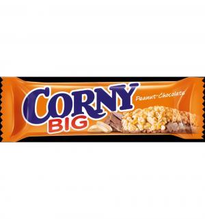 Батончик  Corny Big арахис в шоколадной глазури, 50 г, 1 шт Schwartau