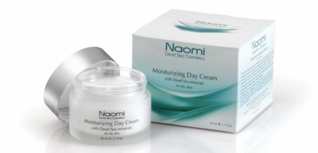 Крем дневной для лица с минералами Мертвого моря сухой кожи 50 мл Naomi