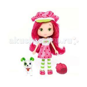 Кукла Земляничка 15 см с питомцем Strawberry Shortcake