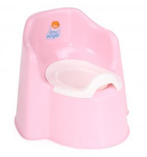 Горшок  Little King, цвет: розовый Plastic Centre