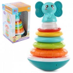 Развивающая игрушка  Неваляшка Пирамидка-слоник Ути Пути