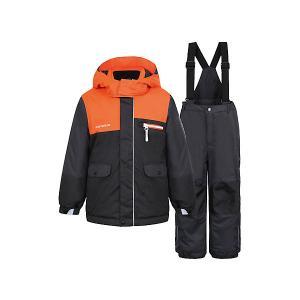 Комплект : куртка и полукомбинезон ICEPEAK. Цвет: черный