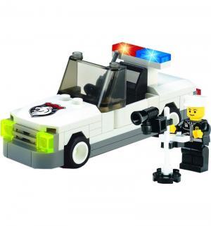 Конструктор  Полицейская машина с фигуркой Brick